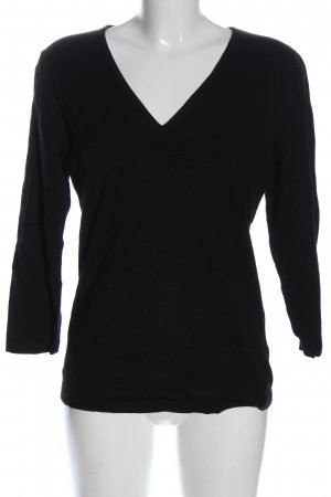 Adagio Knitted Sweater black casual look