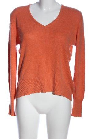 Adagio Pull tricoté orange clair style décontracté