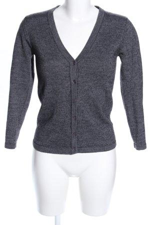 Adagio Sweat Jacket light grey flecked casual look