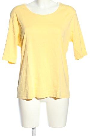 Adagio T-shirt jaune primevère style décontracté