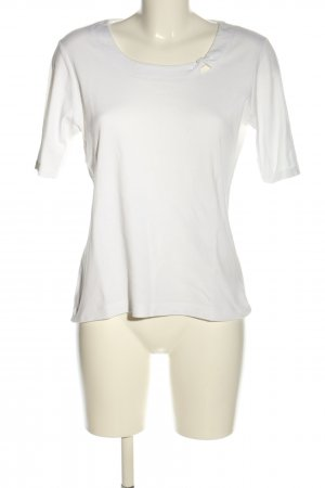 Adagio Camiseta blanco look casual