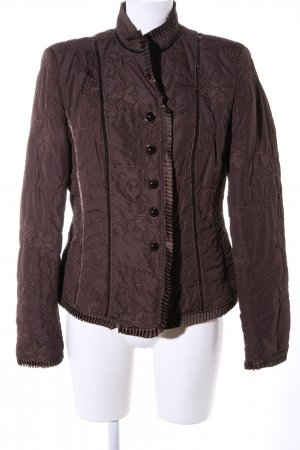 Adagio Between-Seasons Jacket brown flower pattern casual look