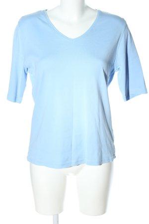 Adagio V-Neck Shirt blue casual look