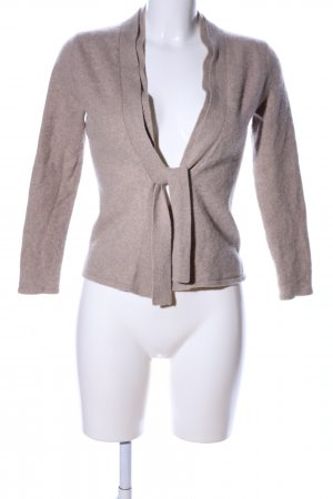 Adagio Wickeljacke braun meliert Business-Look