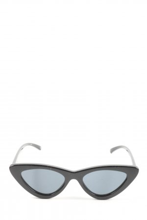 Adam Selman x Le Specs Okulary retro czarny W stylu casual