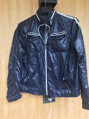 Add Sports Jacket dark blue-white
