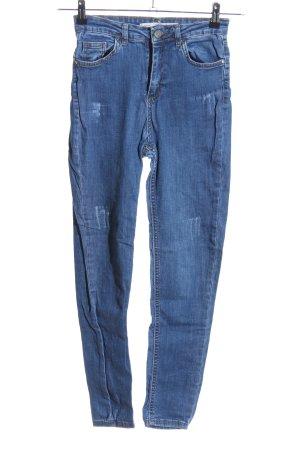 addax Jeansy o obcisłym kroju niebieski W stylu casual