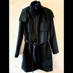 Adddress Hoode Trench coat S