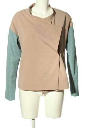 adddress Short Jacket nude-turquoise casual look