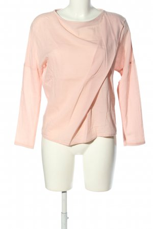 adddress Long Sleeve Blouse nude casual look