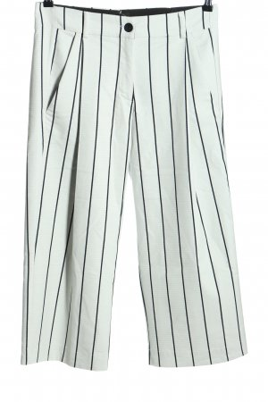 adddress Jersey Pants white-black allover print casual look
