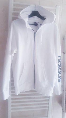 Adidas Giacca fitness bianco-nero