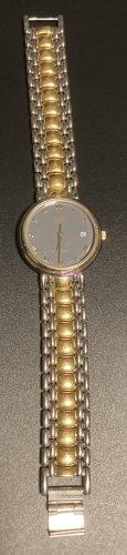 Adec Reloj con pulsera metálica color plata-color oro