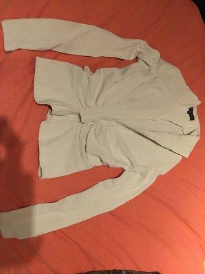 Adele Fado Blazer en jersey blanc viscose