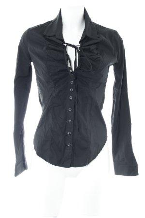 Adele Fado Camicia blusa nero stile casual