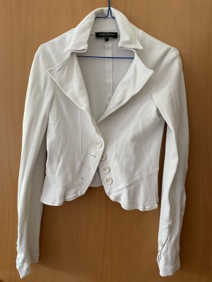 Adele Fado Jersey Blazer blanco Viscosa