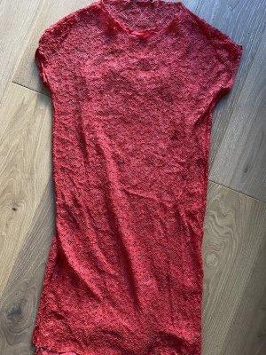 Adele Fado Vestido de encaje rosa Viscosa