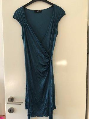 Adele Fado Robe portefeuille bleu pétrole