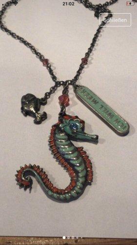 Adelheid Kette Seepferdchen Ich will Meer Halskette