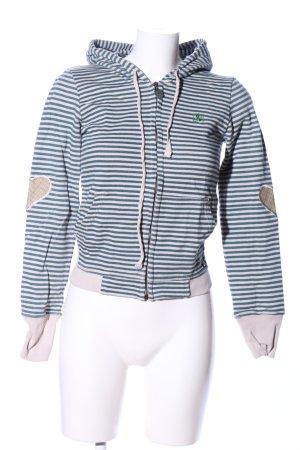 Adelheid Sweat Jacket themed print casual look