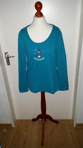 Adelheid, Winter-Motiv-Shirt, Gr.L