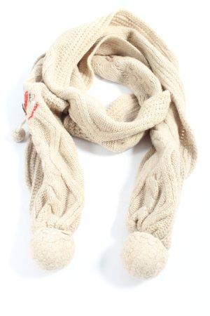 Adelheid Écharpe en laine imprimé avec thème style décontracté
