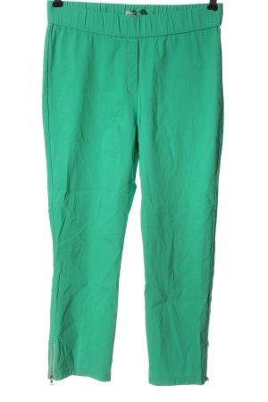 Adelina Pantalon 7/8 vert style décontracté