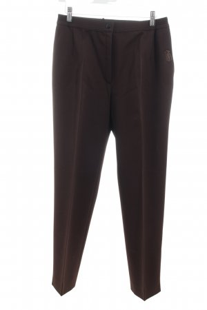Adelina Suit Trouser dark brown elegant