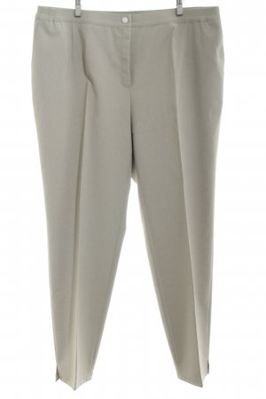 Adelina Pleated Trousers silver-colored classic style