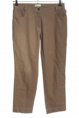 Adelina Jersey Pants brown casual look