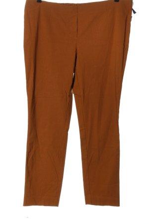 Adelina Stoffen broek licht Oranje casual uitstraling