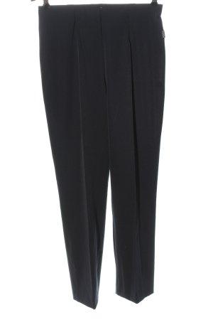 Adelina Pantalón tipo suéter negro estilo «business»