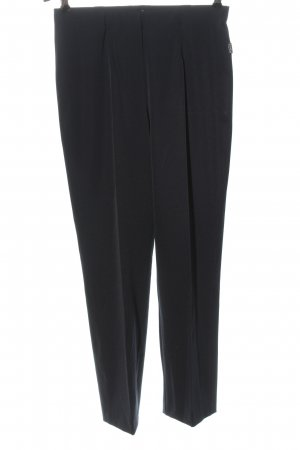 Adelina Stoffen broek zwart zakelijke stijl