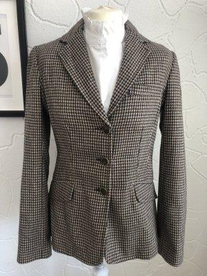 Adenauer & Co Blazer in lana multicolore
