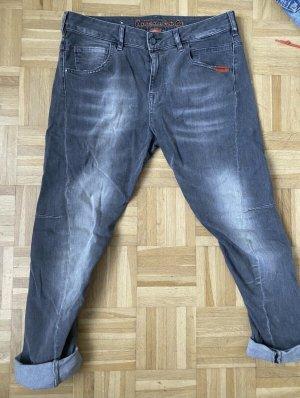 Adenauer & Co Jeans boyfriend multicolore