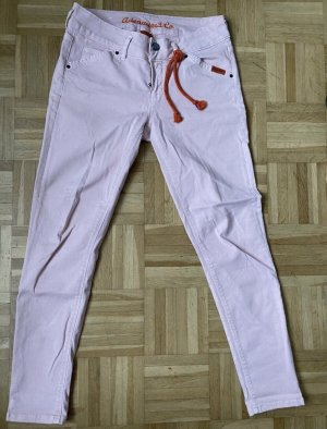 Adenauer & Co Jeans 7/8 rosé-rose clair