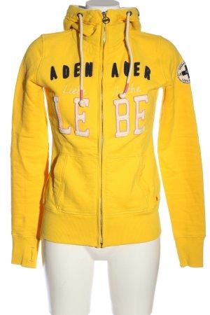 Adenauer & Co Sweat à capuche multicolore style décontracté