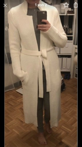 Adenauer & Co Knitted Coat natural white-cream