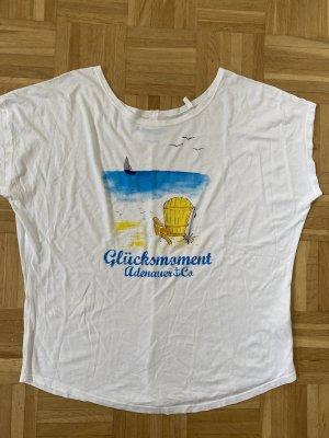 Adenauer & Co T-shirt blanc