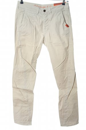 Adenauer & Co Stoffhose hellgrau Casual-Look