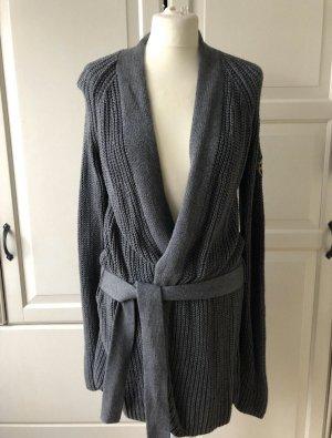Adenauer & Co Veste en tricot gris
