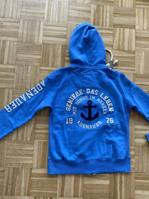 Adenauer & Co Giacca fitness blu