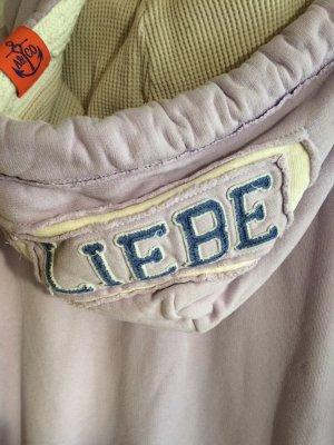 Adenauer & Co Veste à capuche rosé-violet coton