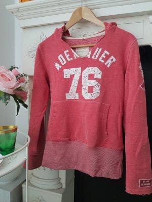 Adenauer & Co Hooded Sweatshirt bright red