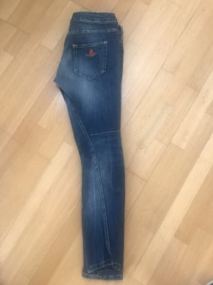 Adenauer & Co Jeans boyfriend blu