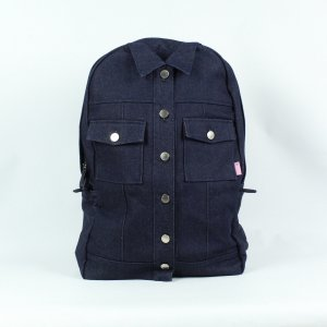 Weekender Bag dark blue cotton