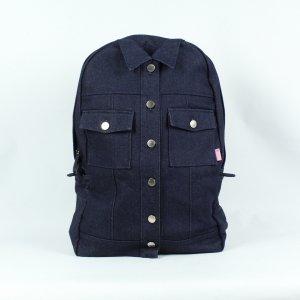 ADER ERROR Rucksack blau Jeans (19/11/261)