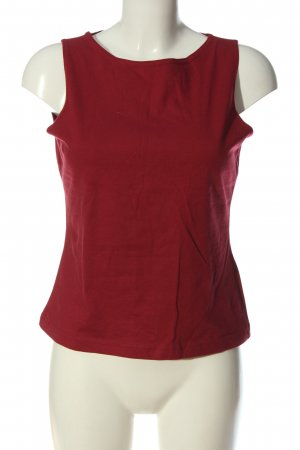 adessa Top basic rosso stile casual