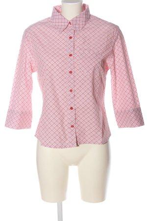 adessa Houthakkershemd rood-wit volledige print elegant