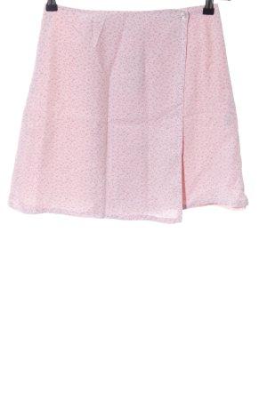 adessa Mini-jupe rose imprimé allover style décontracté